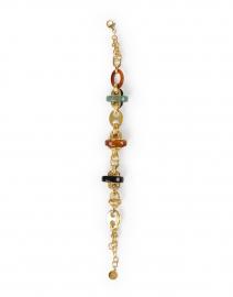 Gas Bijoux - Prato Gold and Resin Chain Bracelet