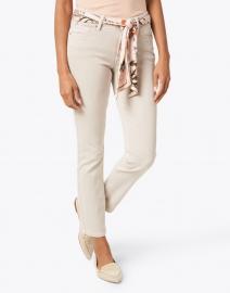 Cambio - Paris Beige Cropped Jean