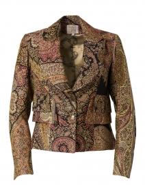 Multicolored Paisley Brocade Jazz Jacket