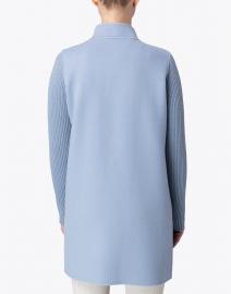 Kinross - Harbor Blue Wool Cashmere Coat