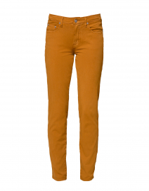 Hazel Brown Tapered Straight Leg Stretch Cotton Jean