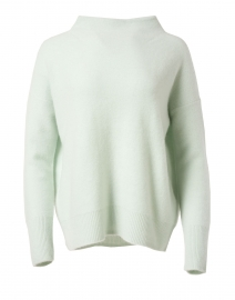 Pale Green Boiled Cashmere Sweater