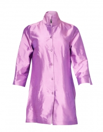 Rita Lily Purple Silk Jacket