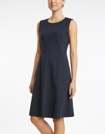 BOSS Hugo Boss - Dandrow Navy Jersey Dress