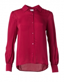 Macgraw Berry Crepe Blouse