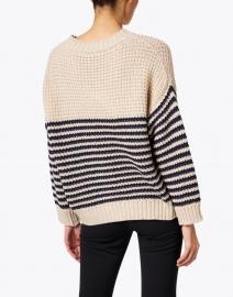 Weekend Max Mara - Arca Beige and Navy Stripe Sweater