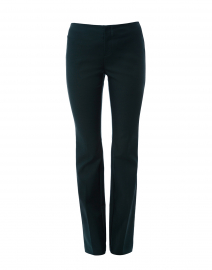 Varick Forest Green Bootcut Power Stretch Pant