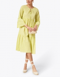 Ro's Garden - Dulce Light Green Dot Printed Cotton Dress