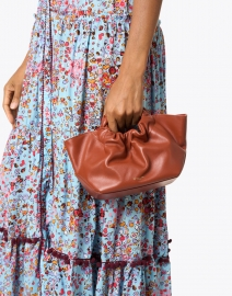 DeMellier - Mini Los Angeles Terracotta Smooth Leather Bag