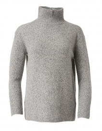 Grey Cashmere Donegal Sweater