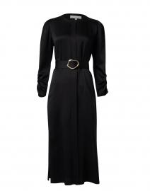 Neilson Black Hammered Crepe Dress