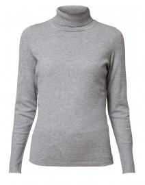 Heather Grey Turtleneck Sweater