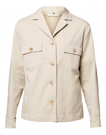 Maratea Sand Cotton Safari Jacket