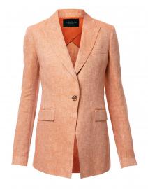 Atticus Orange Linen Blazer