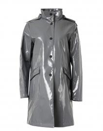 Storm Grey Water Repellent Slicker Coat