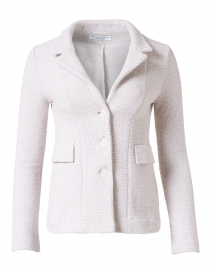 Essere Gold Cotton Knit Blazer Jacket