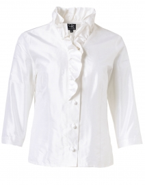 Celine White Silk Shirt