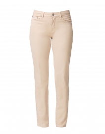 Sand Tapered Straight Leg Stretch Cotton Jean