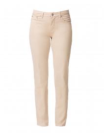Sand Tapered Straight Leg Stretch Cotton Jean