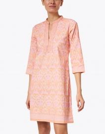 Bella Tu - Ikat Melon Printed Stretch Cotton Dress