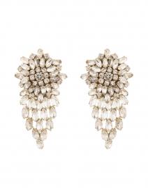Stella Silver Crystal Drop Earring