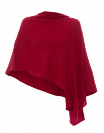 Antique Red Cashmere Ruana