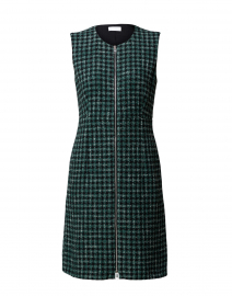 Darsha Green Tweed Dress