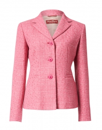 Nambo Pink Stretch Tweed Jacket