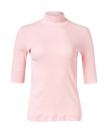 Light Pink Stretch Cotton Top