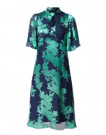 Shifali Emerald Green Floral Printed Dress