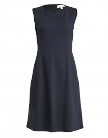 Dandrow Navy Jersey Dress
