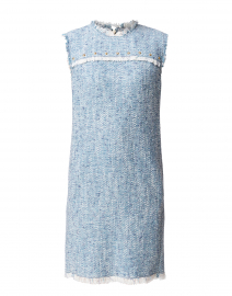 Damika Pale Blue Tweed Dress