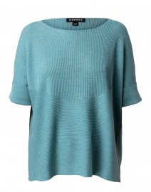 Wasabi Green Cotton Viscose Sweater