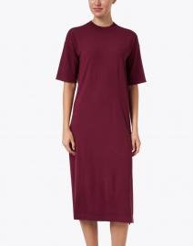 Weekend Max Mara - Onda Plum Knit Dress