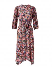 Santana Pink Multi Floral Print Dress