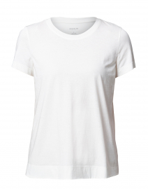 The Modern Tee White Cotton Tee