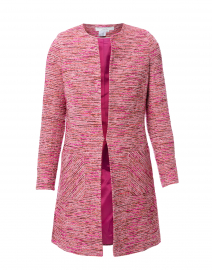 Alice Pink and Burgundy Tweed Jacket