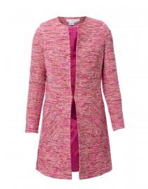 Alice Pink and Burgundy Tweed Jacket