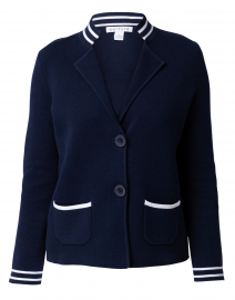 Milano Eclipse Navy Cotton Jacket