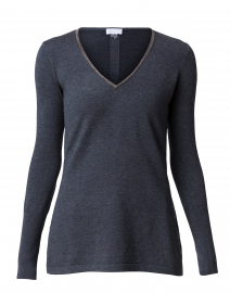 Charcoal Tunic Sweater