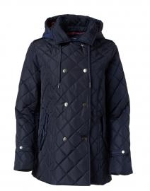 Greta Navy Quilted Jacket