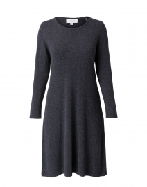 Charcoal Grey Cashmere Swing Dress
