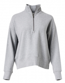 Heather Grey French Terry Pullover