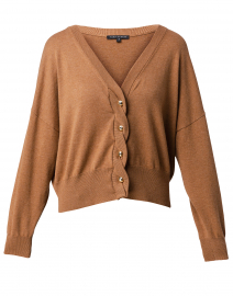 Nick Camel Cotton Cardigan
