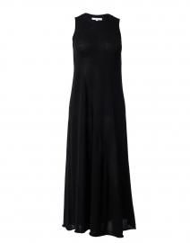 Black Knit Cotton Dress