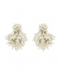 Crystal Burst Clip Earrings