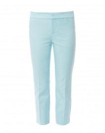 Madison Crop Pale Blue Power Stretch Pant