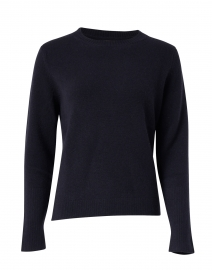 Essential Navy Cashmere Sweater