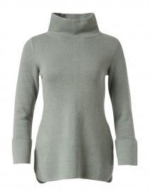 Lauren Poplar Green Cotton Cashmere Tunic