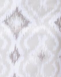 Gretchen Scott - Beige and White Ikat Printed Skort